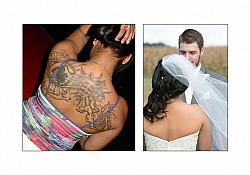 Wedding Day And Tattoos